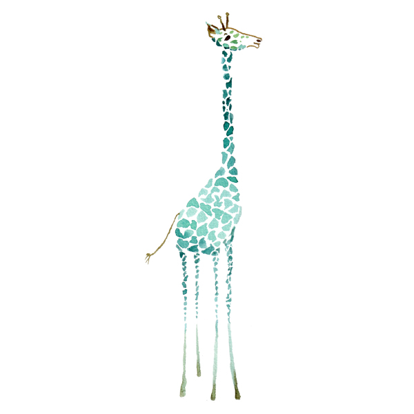 Interior Art Affairz – kidz room – giraffe