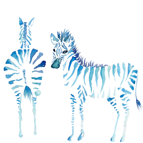 Interior Art Affairz – kidz room – zebra