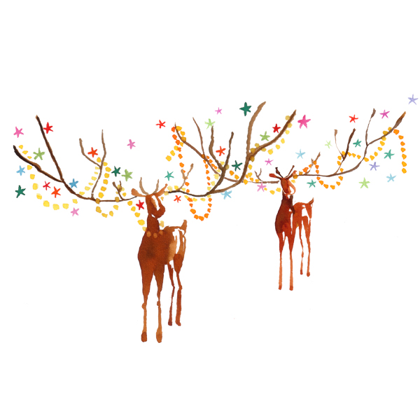 Sloane stationery – xmas rendeers