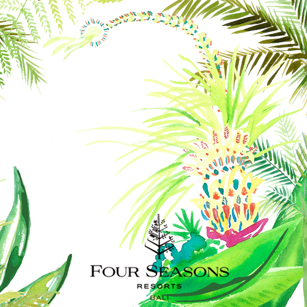 Four Seasons Sayan – penjor