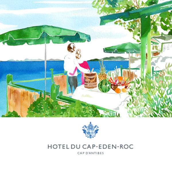 Hotel du Cap Eden Roc cabanas