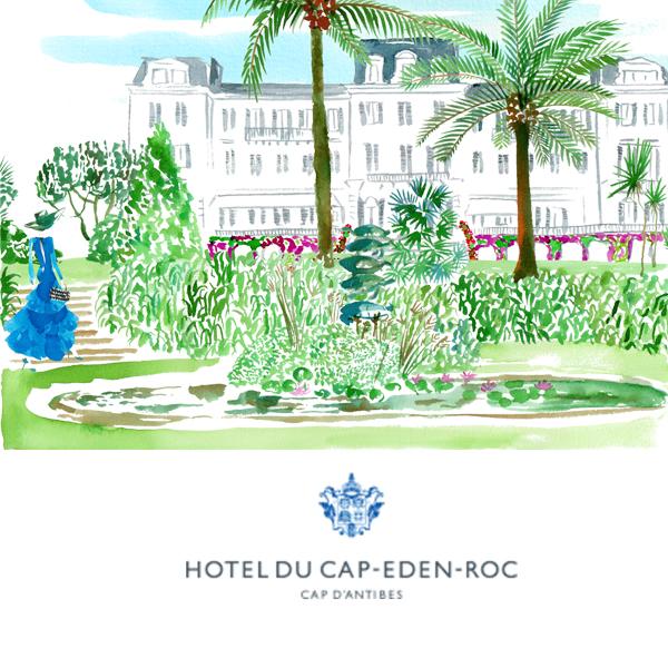 Hotel du Cap-Eden-Roc garden