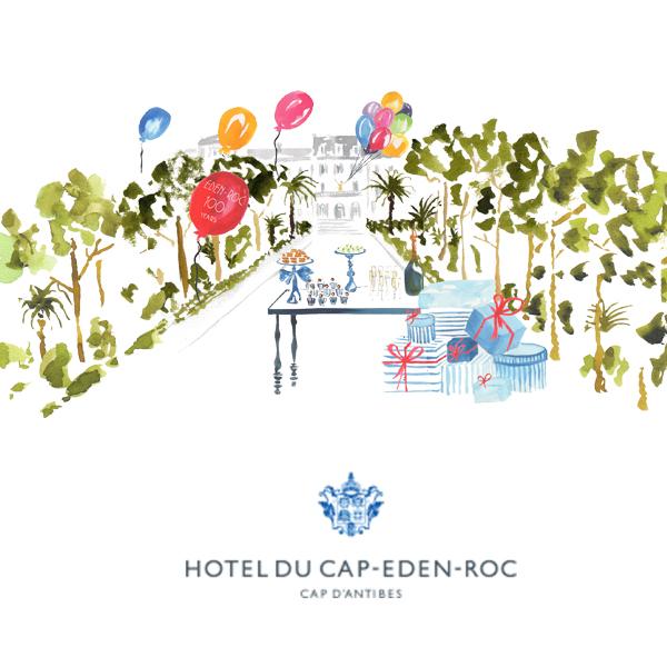 Hotel du Cap-Eden-Roc  – 100 years