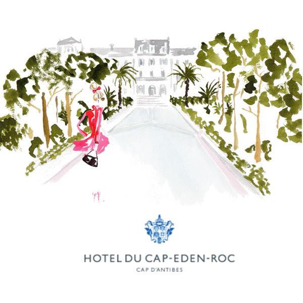 Hotel du Cap-Eden-Roc  – main allee