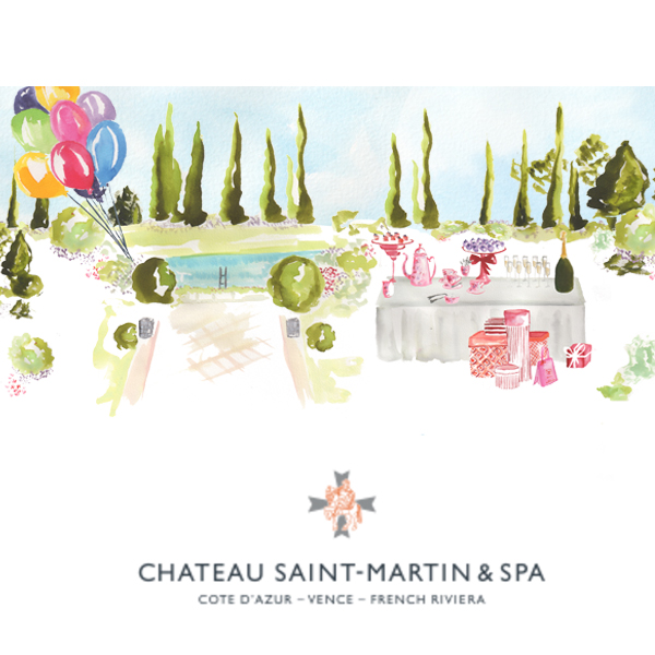 Chateau Saint Martin – birthdaycard