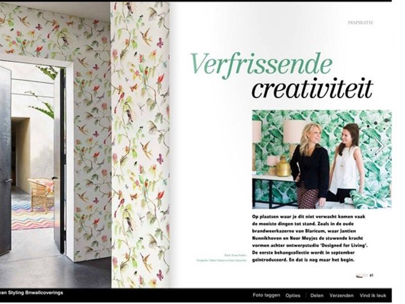 Designed for Living – wallpaper