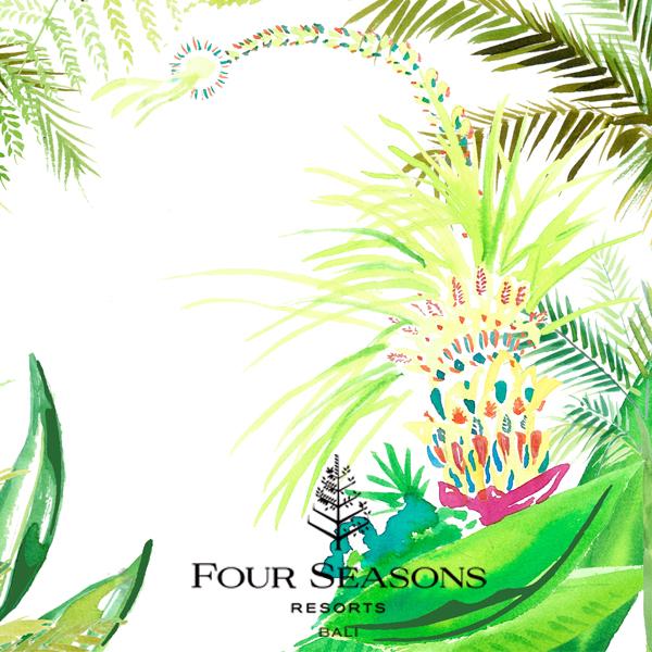 Four Seasons Sayan – penjor